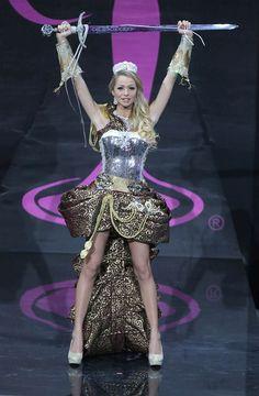 Miss Universe The National Costume Show - Sweden Miss Universe Costumes, Miss Universe National Costume, Miss Universe 2013, Moscow, Rave, Captain Hat, Pageants, Explore, Sweden