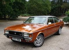 Ford Granada Ghia Coupe.  Never thought much of it back then, but strangely, I find it quite appealing now.