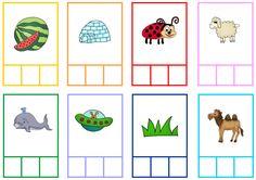 (2016-06) Stavelser Kindergarten, Cycle 1, Alphabet, Barn, Education, Activities For Kids, Lyrics, Phonological Awareness, Initial Sounds