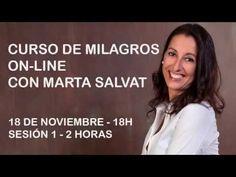 Sesión 1/9 de un grupo de estudio de un curso de milagros por Marta Salvat - YouTube