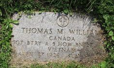 Steve Wightman @stevewightman1 16m16 minutes ago California, USA  Honoring #USArmy Sgt Thomas Murray Williams, died 7/18/1966 in South Vietnam. Honor him so he is not forgotten.