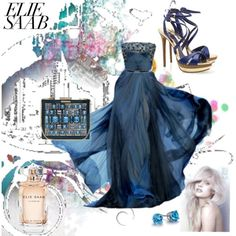 """Elie Saab..."" by camille-vickery on Polyvore"