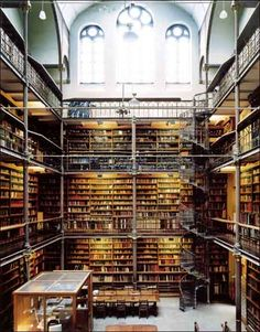 Rijkmuseum Library, Amsterdam. This is where I would be in Amsterdam, lol!