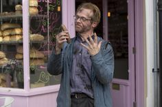 Absolutely Anything:  It's about a man called Neil, a teacher in a sink secondary school, who gets given magic powers by aliens. He can make anything happen, [but] he doesn't realise it until his colleague says, 'What would you do if you could do anything?' and Neil responds with, 'I'd make an alien spaceship hit class 4C and vaporise them.' Then there's an explosion in the school, and they run to 4C's classroom, open the door and there's a vast hole in the ground.