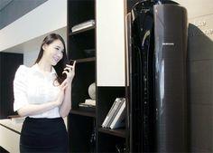 Samsung hat bereits den Smart Ofen vorgestellt, der via WiFi und Android App bedient werden kann. Nun hat man mit dem Samsung Smart Klimagerät eine Klimaanlage angekündigt, die sich ebenfalls via Android App und Smartphone fernbedienen lässt.