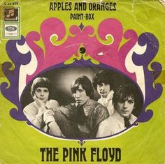 Pink Floyd - Apples And Oranges/Paint Box Record Cover Vinyl Cd, Vinyl Records, Rare Vinyl, Lp Cover, Cover Art, Rock And Roll, Musica Punk, Pink Floyd Art, Pat Boone