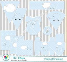 Kit Festa Baby Efefante mod:826