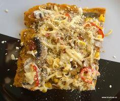 Polentový slaný koláč Polenta, Lasagna, Pesto, Quiche, Macaroni And Cheese, Yummy Food, Breakfast, Ethnic Recipes, Food Ideas