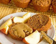 Quinoa Applesauce Muffin Recipe -   Easy Healthy Low Fat Gluten Free Vegan Breakfast Muffin Recipe #easy #low #fat #recipes #food