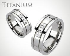 Oxygen Titanium Ring by Blue Steel Get It Here #BuyBlueSteel #Ring #Titanium #Weddingring #Men #Women #Jewelry