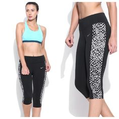 Nike Epic Lux Running Capris NWT! Tight fit, capri length. Two interior pockets and back zip pocket. Nike Pants Capris