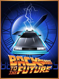 30th Anniversary Tribute to Back To The Future by Rodolfo Reyes