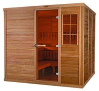 Sauna On Pinterest Saunas Outdoor And Infrared Heater
