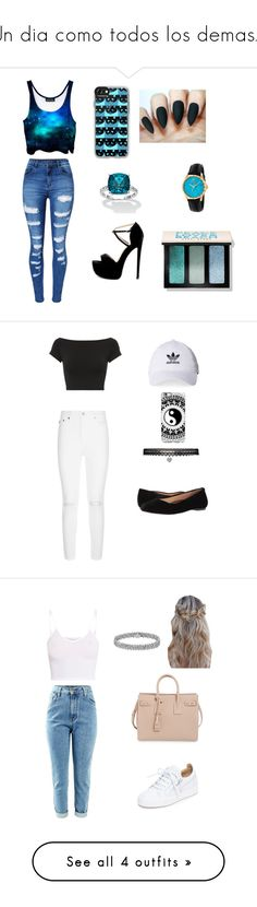 """""""Un dia como todos los demas...."""" by ana-morales18 ❤ liked on Polyvore featuring CasualChic, WithChic, Palm Beach Jewelry, Gucci, Casetify, Bobbi Brown Cosmetics, Helmut Lang, AG Adriano Goldschmied, Walking Cradles and Betsey Johnson"""
