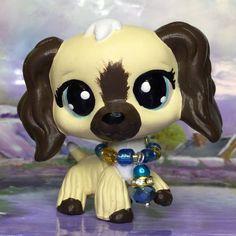 4 Cute Accessories 2x Authentic Hasbro Littlest Pet Shop LPS Collie #58#2210