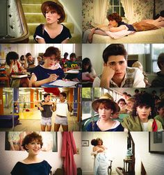 Sixteen Candles! My favorite movie ever. I can't see myself ever getting tired of watching it...