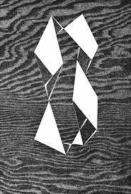 From Cristea Roberts Gallery, Josef Albers, Astatic Woodcut on Japanese nacre kozo paper, × cm Josef Albers, Anni Albers, Walter Gropius, Bauhaus, Graphic Illustration, Graphic Art, Abstract Geometric Art, Geometric Graphic, Art Archive