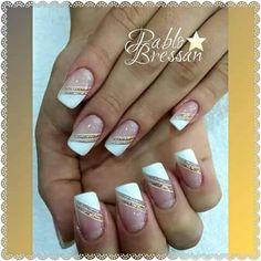 Nails Nails Art French Manicure Ongles Ideen Selecting A Hair Loss Treatment Article Body French Nails, French Manicure Nails, Manicure And Pedicure, My Nails, Tape Nail Art, Pink Nail Art, Cute Acrylic Nails, Classy Nails, Stylish Nails