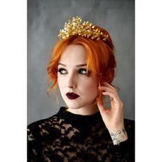 Antique German Wedding Crown Gold German Myrtle von PollyMcGeary