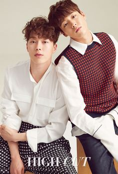 The Liar and His Lover Jang Ki Yong & Lee Hyun Woo - High Cut Magazine vol. 195