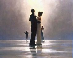 Jack Vettriano - I want this framed and hanging in my house one day!!