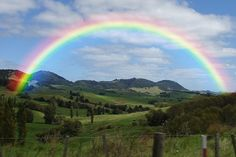 """Photo of """"Somewhere Over the Rainbow"""" by Israel """"IZ"""" Kamakawiwo'ole Over The Rainbow, Rainbow Sky, Love Rainbow, Rainbow Colors, Father Daughter Wedding Dance, Rainbow Photography, Nature Photography, Rainbow Images, Nature Landscape"""