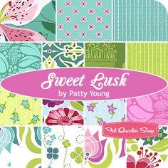Sweet Lush Fat Quarter Bundle Patty Young for Michael Miller Fabrics - Fat Quarter Shop