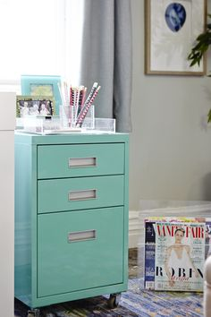 82A Happy Home Office with HomeGoods