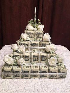 Money Birthday Cake, Money Cake, 16th Birthday Gifts, Diy Birthday, Birthday Wishes, Birthday Parties, Happy Birthday, Money Bouquet, Gifts