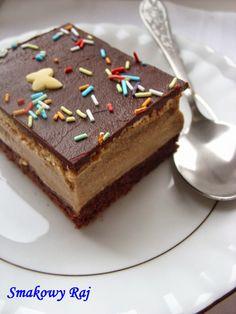 Smakowy Raj - blog kulinarny: Ciasto biszkoptowe z cappuccino