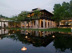 Chiang Mai's Chedi has upped the ante in this posh town on the Mae Ping River. The 84 sleek rooms, protected from urban noise by two sets of thick doors, have sweeping floor-to-ceiling views of Thai river life. Overall score: 97.4 See full rating information for The Chedi, Chiang Mai
