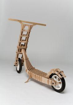 Scooter Woody by Martin Beinhauer, via Behance