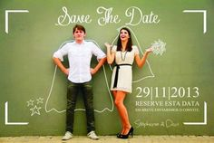 Invitaciones de bodas originales: ¿hacemos un Save the Date?
