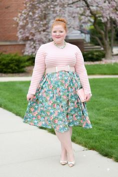 With Wonder and Whimsy Blog - Modest Sidewalk Stroll Dress by Dainty Jewell's