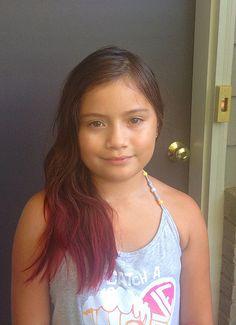 Purple And Black Cherry Kool Aid Hair Pinterest Dyed