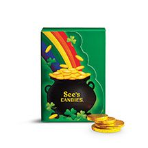 Chocolate Treasure Coins   See's Candies