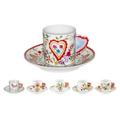 VILA VERDE | Tea Cups & Saucers