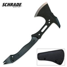 Amazon.com : Schrade SCAXE5 Tactical Hatchet Full Tang : Sports & Outdoors