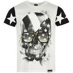 Tee Shirt Monsterpiece Star Blanc - LaBoutiqueOfficielle.com