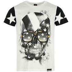 Tee Shirt Monsterpiece Star Blanc - LaBoutiqueOfficielle.com