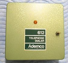 ADEMCO 612 Telephone Dialer Alarm New Never Been Used Vintage