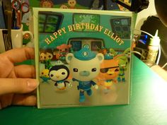Personalized Octonauts birthday card £2.99---- I would love it if available in the usa