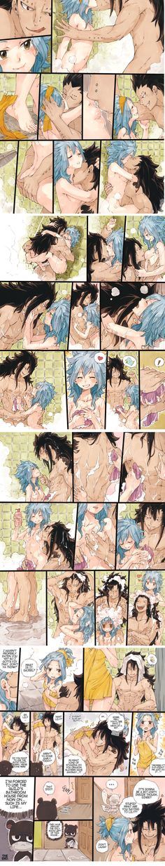 shower fun with gajevy ♥
