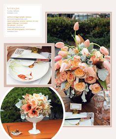 Design collaboration with Krista Jon; floral design Krista Jon Couture; furniture Archive Vintage Rentals.
