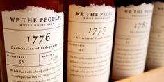 Student Project: We The People White HouseBrew - The Dieline -