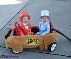 Lloyd and Harry from Dumb & Dumber - Baby Halloween Costume Idea