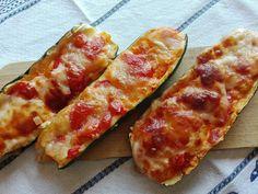 Recept týždňa: Zapekané cukety Hot Dog Buns, Hot Dogs, Zucchini, Cheesecake, Recipies, Healthy Recipes, Healthy Food, Bread, Vegetables