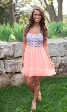 The Pink Lily Boutique - A Neon Dream Aztec Dress, $39.00 (http://thepinklilyboutique.com/a-neon-dream-aztec-dress/)