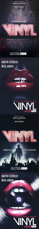 HBO: VINYL KEYART by Lost Project