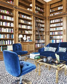 Tour a Grand Apartment in Paris With '70s Flair via @MyDomaine